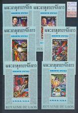 XC15833 Laos 1975 astronaut rocket sheets XXL MNH cv 70 EUR