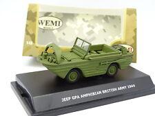 Wemi Militaire Armée 1/43 - Jeep GPA Amphibian British Army 1944