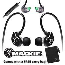 Mackie CR-Buds+ In-Ear High Performance Smart Phone Earphones Canal Earbuds