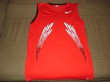 Nike Nadal 2008 Sleeveless Tennis Shirt Federer 280280-601 Medium Slim Federer