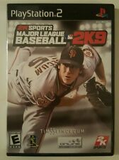 Major League Baseball 2K9 - PS2 Playstation 2 Game Complete