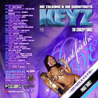 DJ KEYZ - JUST FOR THE LOVE PT 2 (MIX CD) JEFF REDD, BOBBY BROWN, SWV, HI-FIVE