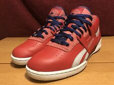 Rare Red Reebok Workout Mid Men's 10.5 Red/Blue/Steel/White/Silver🔥 W/Box