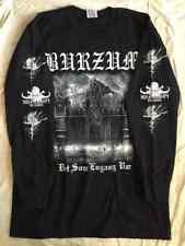 Black metal Long sleeve L shirt Immortal Emperor Enslaved 1349 Darkthrone Mayhem