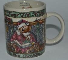 1999 The Boyds Bear Collection ~ Twas Night Before Christmas ~ Coffee Cup Mug