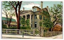 Early 1900s Home of Dr. Edward Everett Hale, Roxbury, MA Postcard