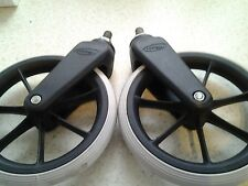 1 PAIR 190 X 29 CASTOR WHEEL FOR WHEELCHAIRS LOMAX , INVACARE