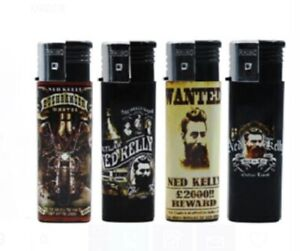Unique Ned Kelly Outlaw Legend Cigarette Lighter 5 Bulk Pack Lighters