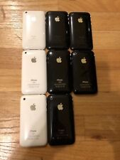 lot of 8 iPhone 3g 3GS 3 series factory unlocked collectors items