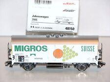 """Märklin H0 48150 Märklin Jahreswagen 2006 """"Migros"""" - NEU + OVP"""