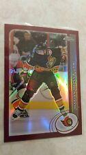 2002-03 Topps Chrome REFRACTOR Marian Hossa Card 113