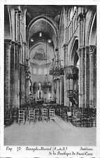 BF6326 paray le monial interieur de la basilique du sac france      France