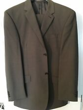 Next - Wool with Lycra Suit - Brown - Size Jacket 40R, Trousers 34R