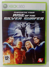 FANTASTIC FOUR RISE OF SILVER SURFER XBOX 360 EUROPEAN PAL USED GOOD CONDITION