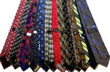 New Bulk Men's Designer Neckties Ties Lot of Twelve (12) Wholesale Silk!