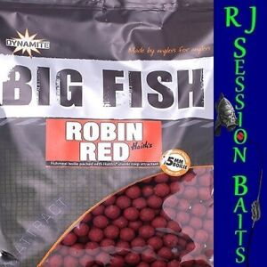Dynamite Baits Robin Red 15mm Session Pack of 25 Boilies
