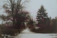"PRINT 10"" X 7""  THE STREET MORTIMER BERKSHIRE c1905"