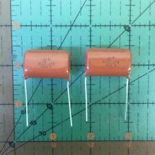 50pc métallisé en polypropylène Film Condensateur 0.22uF 630 V FR vintage radio ampli