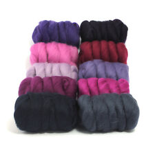 Very Berry - Dyed Merino Wool Top - Felting - Roving - Spinning - 250g