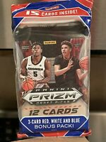 2020-21 Panini Prizm Draft Picks Basketball Cello Fat Pack donruss contenders