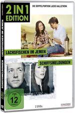 LACHSFISCHEN IM JEMEN (Ewan McGregor) + SCHIFFSMELDUNGEN (Kevin Spacey) 2 DVDs