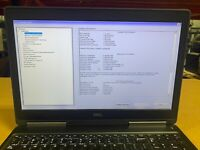 DELL PRECISION 7510  i7 6820HQ 2.7GHZ QUADRO M1000M 256GB SSD 32GB RAM No OS