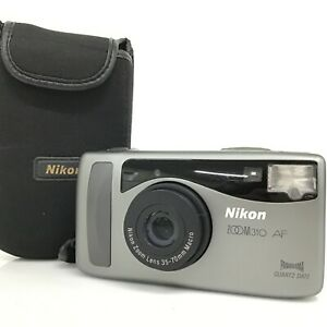 [AS-IS] Nikon ZOOM 310 AF 35mm Point & Shoot Film Camera w/ Case [KC]