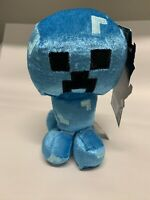 "Minecraft Happy Explorer Charged Creeper Plush 7"" New Extremely Rare"