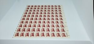 USA~CRAZY HORSE~NATIVE AMERICAN~FULL SHEET~POSTAGE STAMPS~13 CENT~MNH