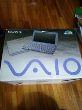 AS IS SONY VAIO PCG-C1XG/BP Working Japanese Windows98 Vintage Paper work