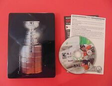 NHL 13 (Microsoft Xbox 360, 2012) Complete, Steelbook, Very Good Disc Condition