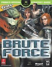 Prima's Official Strategy Guide - Brute Force by Steven Honeywell SC new