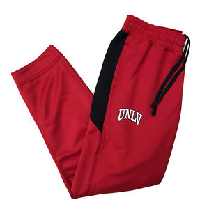 Nike Dri Fit UNLV Rebels Authentic Basketball Team Issued Pants Red Mens Large