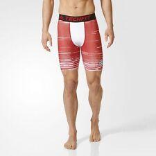 BRAND NEW $55 Adidas Men's FC Bayern Munchen Techfit Shorts Compression AY8676