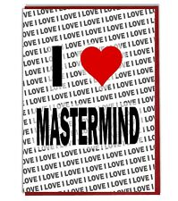 Greeting Card - Birthday Card - I Love Mastermind