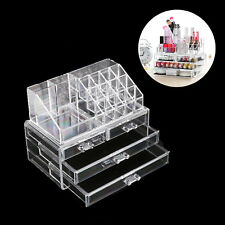 Acryl Kosmetikbox Kosmetikorganizer MakeUp Aufbewahrung Beauty Schubladenbox