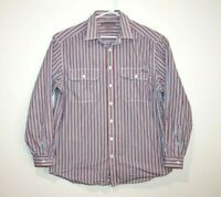 RM Williams Stockyard Button Up Dress Shirt Men's Size XL Relaxed Fit