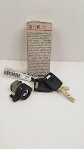 New Genuine VW Audi Ignition Lock Cylinder Barrel & Keys 4D0905855J