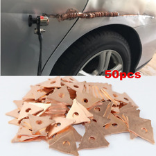50x Car Accessories Spot Welding Kit Body Repair Dent Puller Pulling Rings