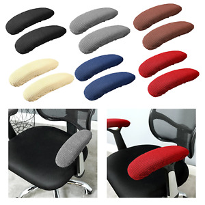 1 Pair Chair Armrest Cover Elastic Fabric Slipcover Office Chair Arm cover