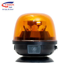 Vision Safe LED Dome Rechargeable Amber Beacon Magnetic Base