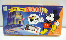 CONSOLE MICKEY MOUSE MAGIC CASTLE - LCD GAME PAL - EPOCH 1989 JAPAN