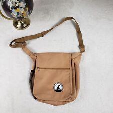 National Wildlife Federation Cross Body Bag Shoulder Tote Satchel Khaki Souvenir