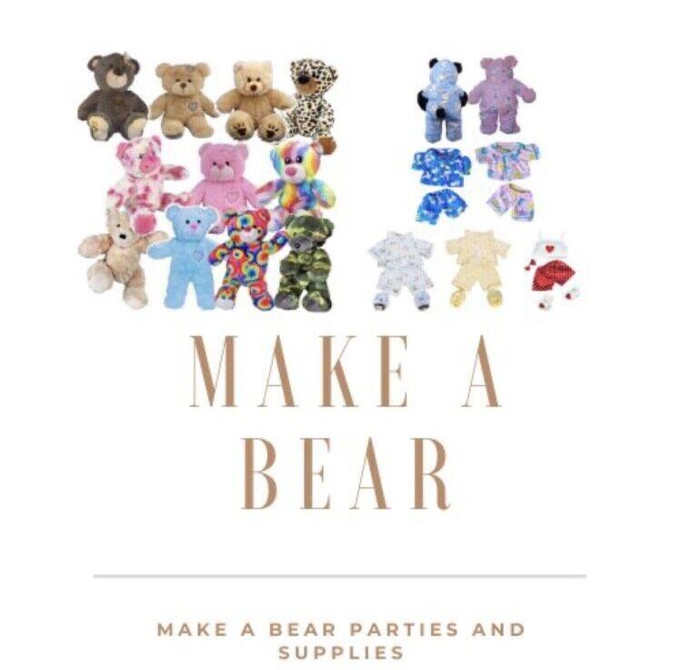 Make A Bear Parties and Supplies
