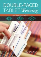 NEW! Double-Faced Tablet Weaving with John Mullarkey [DVD] [2-Disc Set]