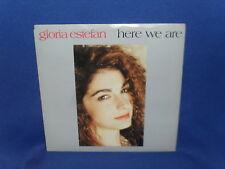 "GLORIA ESTEFAN HERE WE ARE – AUSTRALIAN 7"" 45 VINYL RECORD P/S"