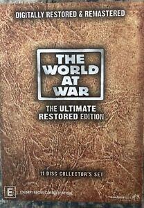 THE WORLD AT WAR Digitally Restored DVD's