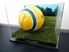 ✺Signed✺ LUCAS NEILL Socceroos Football PROOF COA Australia 2018 Jersey