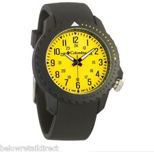 COLUMBIA URBANEER III 3 WATCH MEN'S YELLOW LUMINESCENT DIAL 100M WATER CA020-020