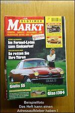 Oldtimer Markt 1/00 Glas 1304 Mercedes C 123 Alfa Giulia